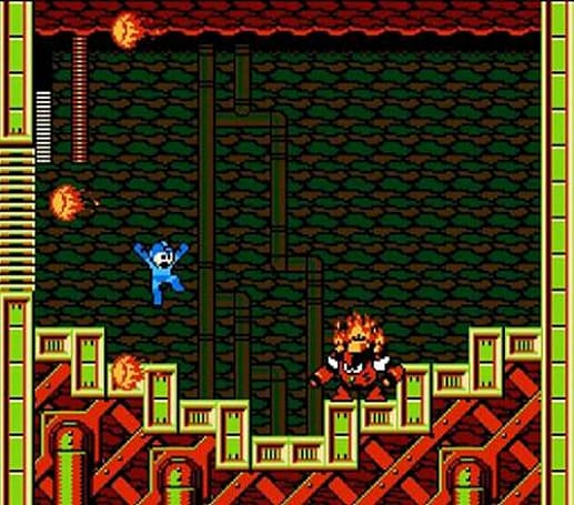 Mega Man gets a new weapon