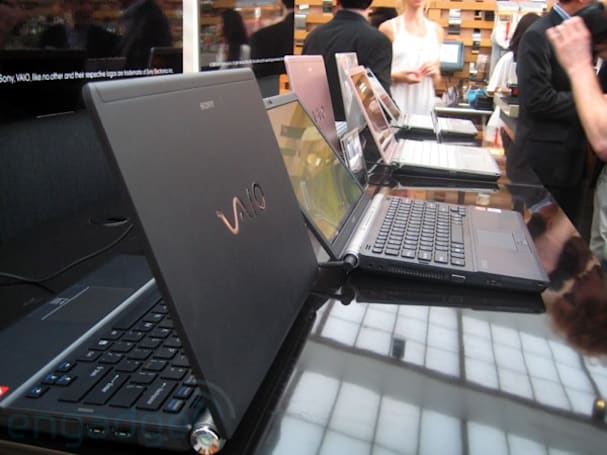 Sony VAIO hands-on extravaganza