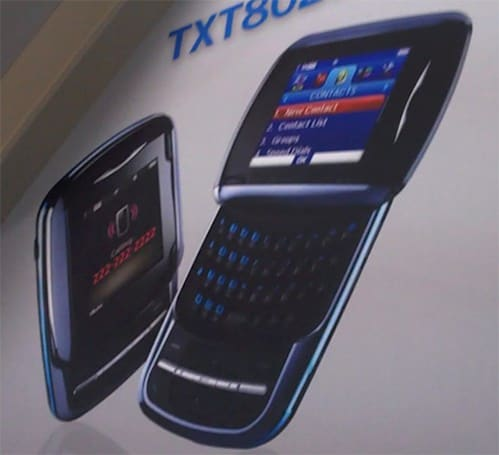 PCD shows off pair of texters at CES