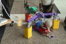 ベビー向けロボット外骨格で『はいはい』促進。脳性まひに起因する運動まひ発現を最小化