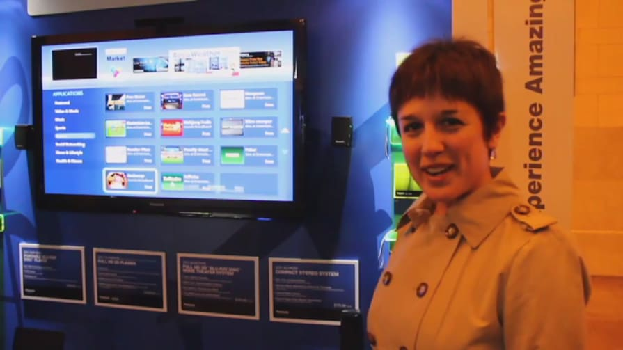 Panasonic Viera Connect Apps Hands-on