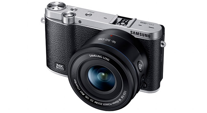 Samsung's new mirrorless camera tries to fuse style with modest specs