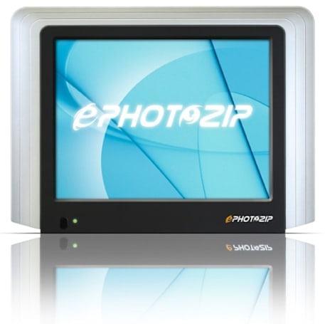 ARTMU's ePHOTOZIP DEF-080PM digital picture frame