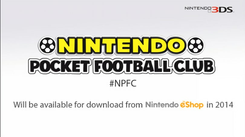 Nintendo Pocket Football Club unveiled for 3DS in Europe