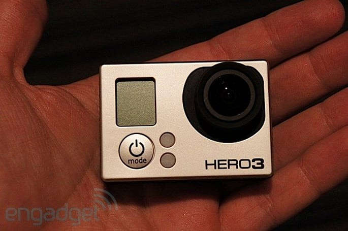 GoPro Hero3 action camera hands-on