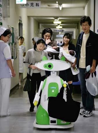 Robots continue their quest to take over entire hospitals