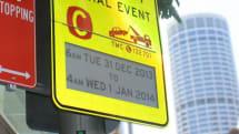 世界初の電子ペーパー道路標識をシドニー市が導入。日程や時間帯で内容変更