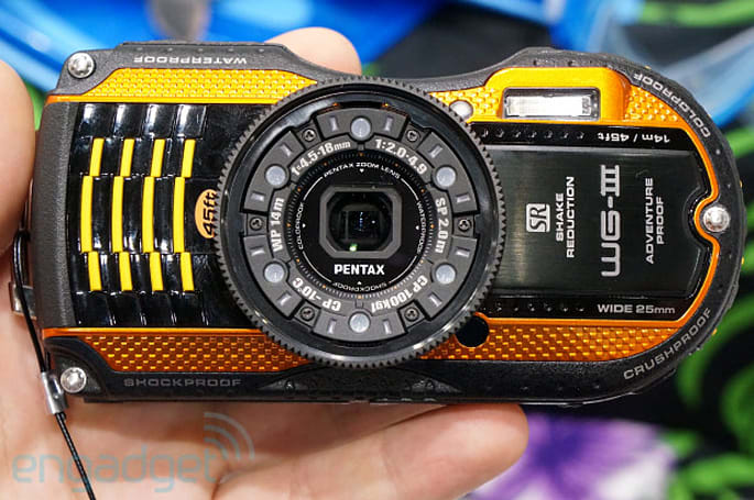 Pentax Optio WG-3 and WG-10 offer ruggedized shooting with a unique design, we go hands-on (video)