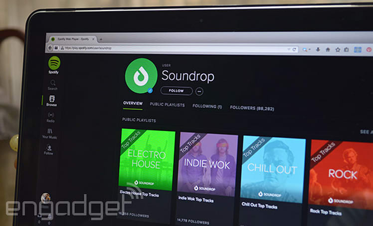 Soundrop listening rooms to shut down after Spotify kills its app platform