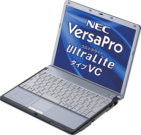NEC's VersaPro VY10A/C-4 laptop lasts 14.5-hours on a single charge