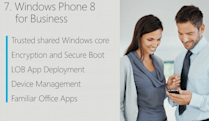 MS teases Windows Phone 8 enterprise features: Company Hub, encryption, secure boot, IT management