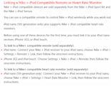 Nike seemingly plans 5G iPod nano-compatible heart rate monitor