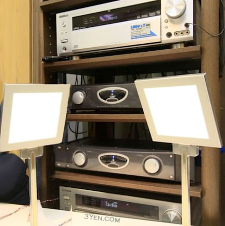 Kenwood lights up your life with prototype OLED-illumed speakers