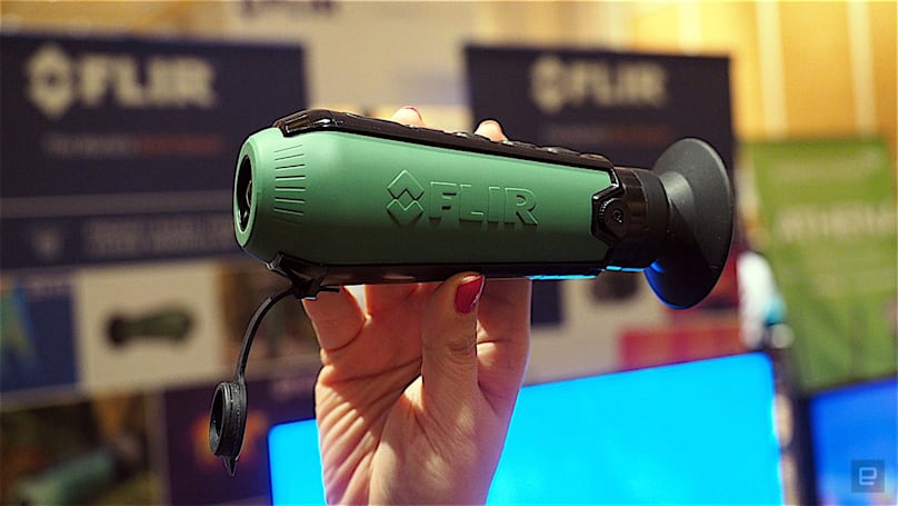 FLIR's Scout TK is a $600 pocket-sized thermal camera