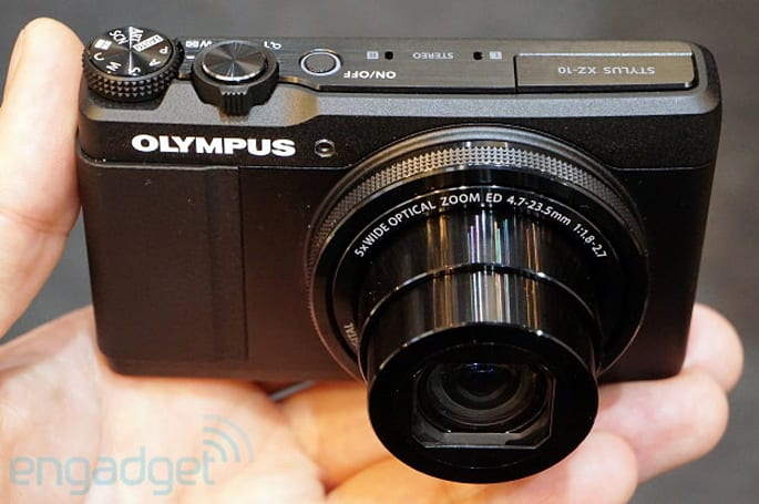 Olympus Stylus XZ-10 packs control ring and PEN-like AF, we go hands-on at CP+ (video)