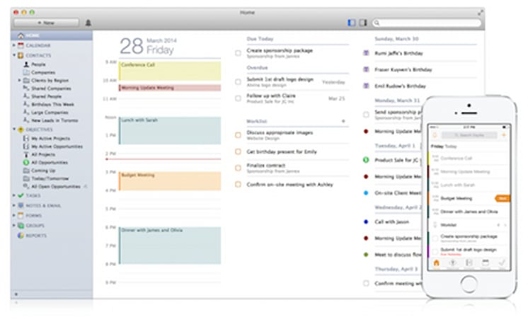 Daylite 5 adds refinements to the business management app