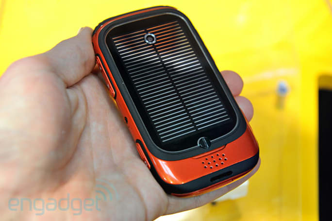Intivation intros Umeox Apollo smartphone: $100, solar-powered, Android 2.2 (hands-on)