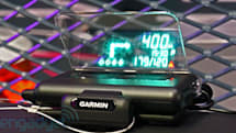 Garmin's smartphone-compatible HUD makes an appearance at IFA 2013, we go eyes-on