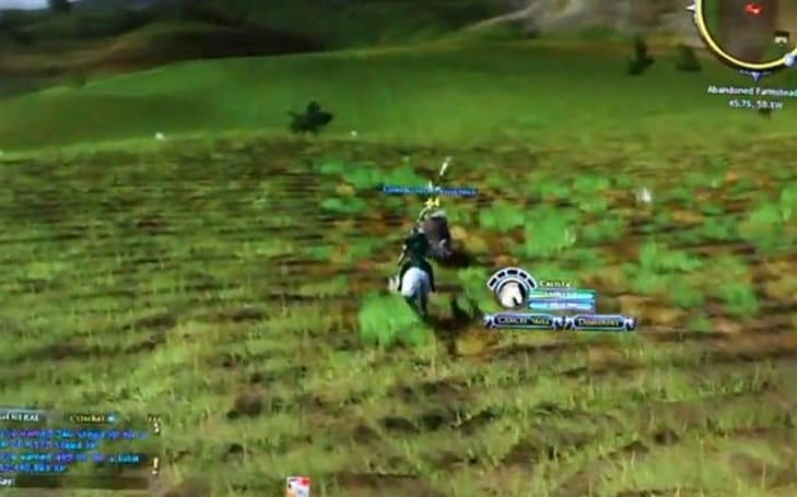 LotRO devs show off its mounted combat system
