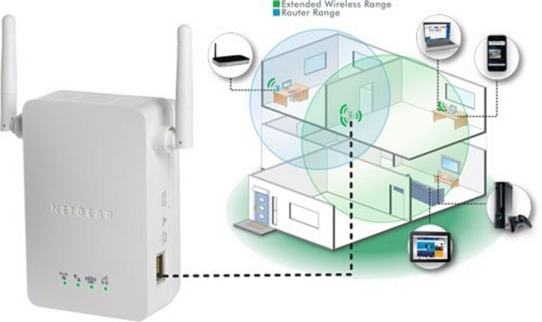 Netgear's Universal WiFi Range Extender now available for balding home networks