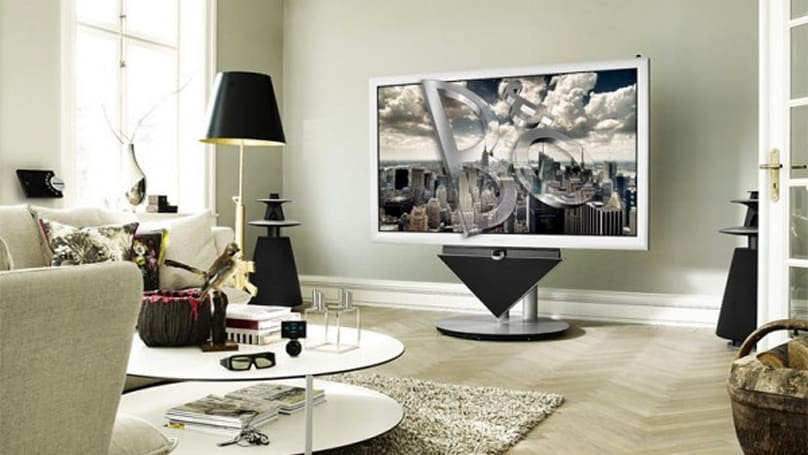 Bang & Olufsen's BeoVision 4-85 TV combines 3D and Full HD with superfluous sleekness