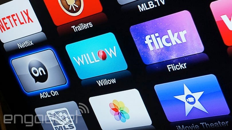 Apple TV gets ABC News, PBS Kids and a brand new Flickr app
