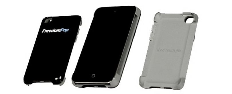 FreedomPop's $99 WiMax iPod touch case promises an iPhone without the bills (video)