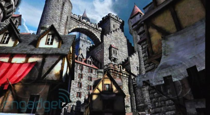 Epic Citadel and other 'development showcases' for Oculus Rift available with dev kits in March