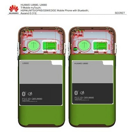 Huawei Ascend G312 (U8680) lands at FCC, unsurprisingly sports T-Mobile myTouch moniker