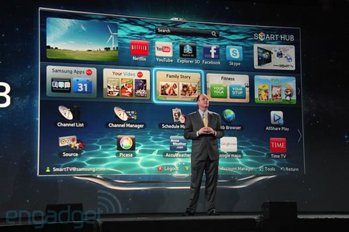 Samsung 2012 SmartTVs will access DirecTV without a set top box, minimalists rejoice