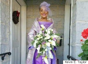 86-Year-Old Grandma Was A Total Knock-Out In Her Wedding Dress