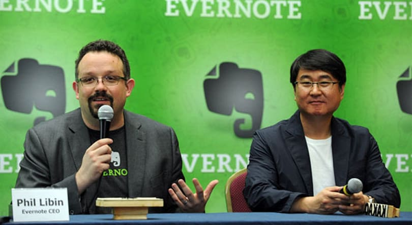 'Introverted' Evernote pairs with messaging app Kakao Talk (and its 90 million users)