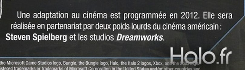Rumor: Dreamworks Halo movie mentioned in press release [update 2]