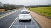 法国小镇完成世上首条「太阳能公路」