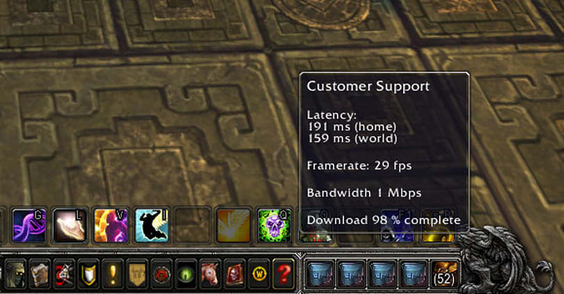 Patch 5.4 PTR: Latency and FPS info moved to a new home