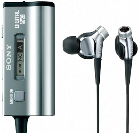 Sony's noise-canceling earphones US-bound in February