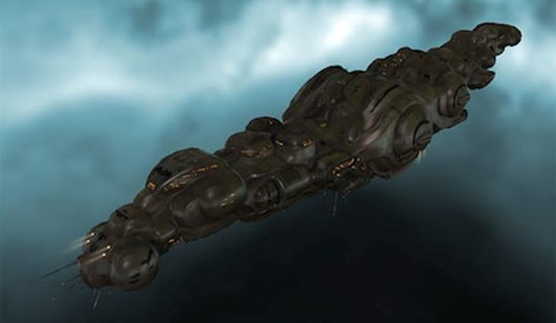 Ship destroyed in EVE Online worth approximately $8,000