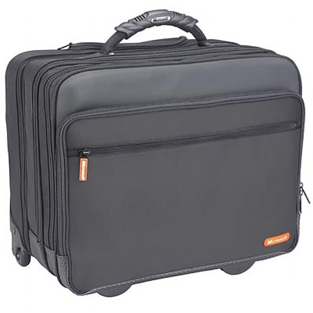 Microsoft busts out its own rolling laptop case?