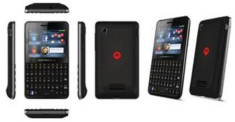 Is Motorola joining the Facebook phone bandwagon with its EX225?