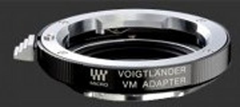 Voigtländer adapter expands lens pool for Micro Four Thirds cameras