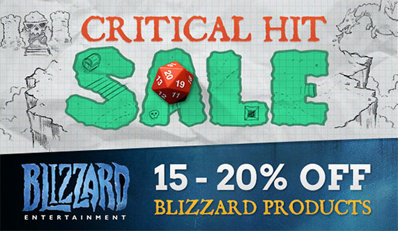 Get 15% off all WoW products with the J!NX Critical Hit sale