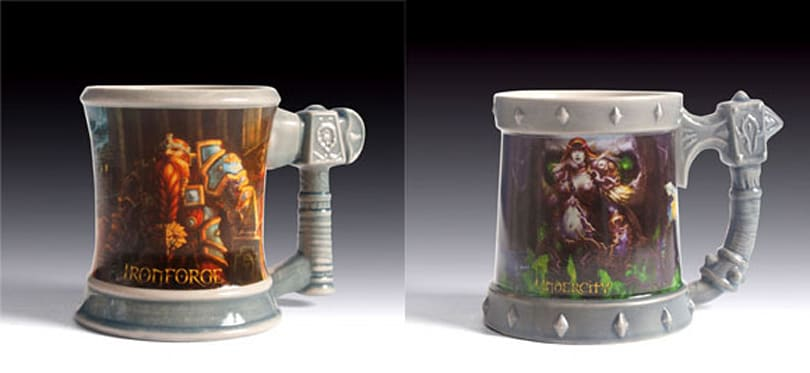 New Ironforge and Undercity mugs available from Taverncraft
