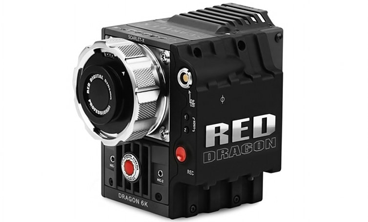 Red's 6K-capable Scarlet Dragon camera goes on sale for a mere $14,500