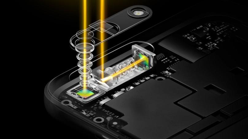 Oppo 也推出潛望鏡式的光學變焦技術