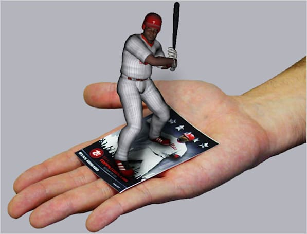 Video: Topps launches 3D Live baseball cards, video cards on deck