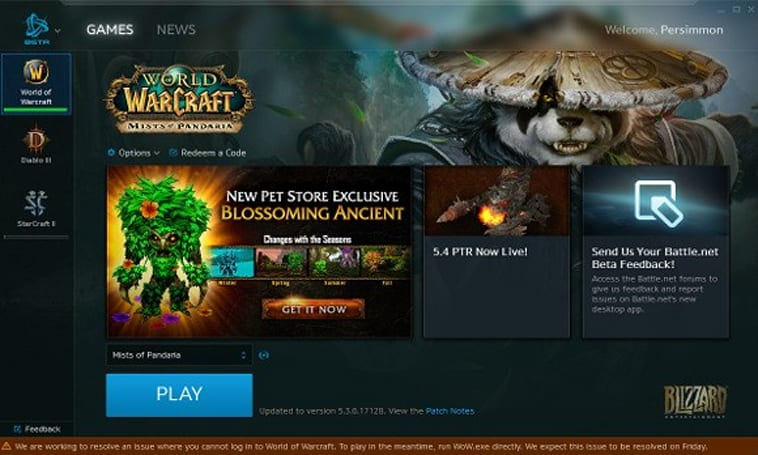 New Battle.net launcher now in open beta testing