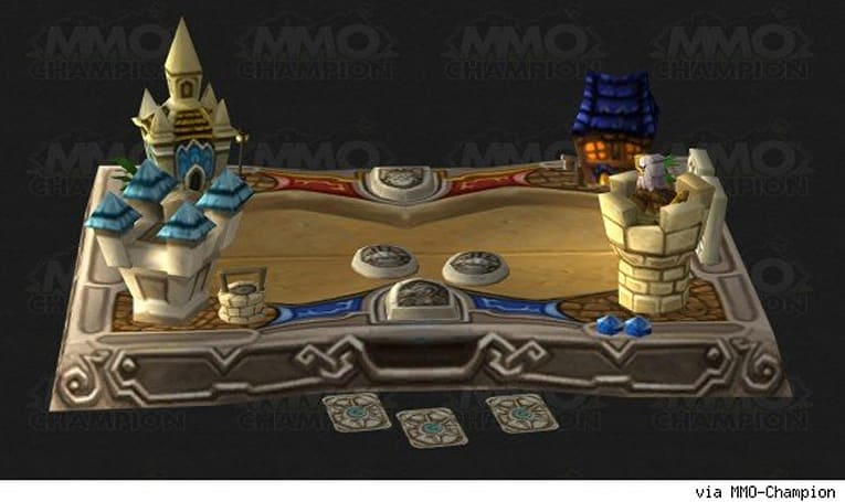 Patch 5.4: Hearthstone game board model datamined