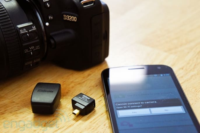 Nikon WU-1a wireless mobile adapter for D3200 review: using Android as a remote trigger / wireless display