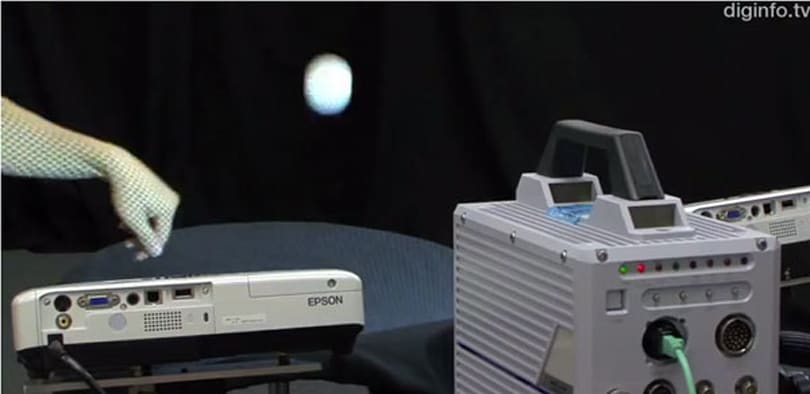 Researchers measure 3D objects using just a camera and projector, can tell if you've ironed your shirt (video)