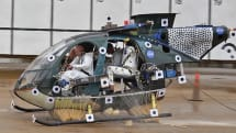 NASA risks then saves lives of dummies in helicopters with external airbags